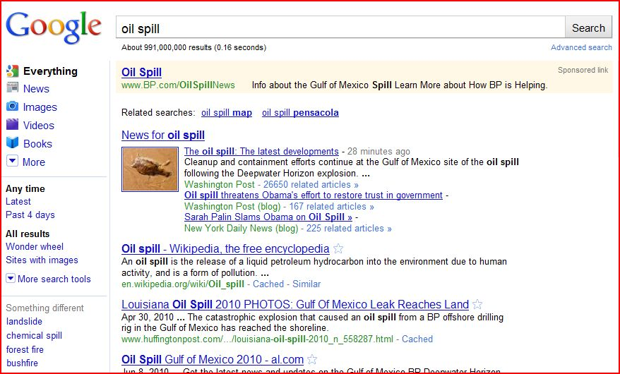 Pr case study bp oil spill